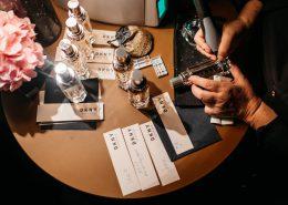 DKNY Presseevent mit Gravuraktion