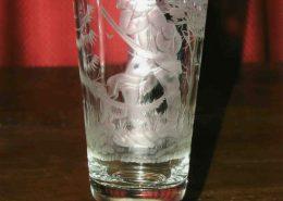 graviertes Weißbierglas